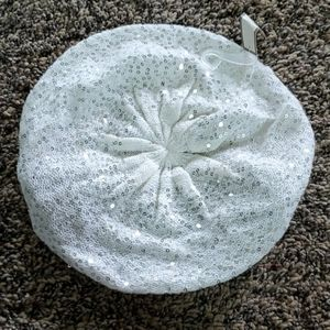NWT GORGEOUS WOMEN'S beret with sequins